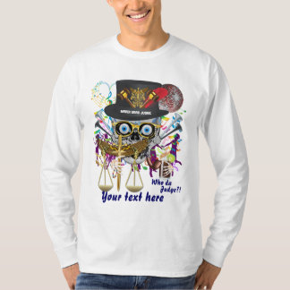 Mardi Gras Judge Men All Styles Light only T-Shirt