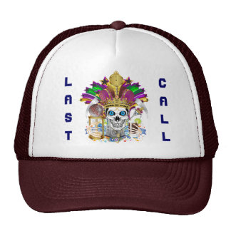 Mardi Gras King of Time View Notes Please Trucker Hat
