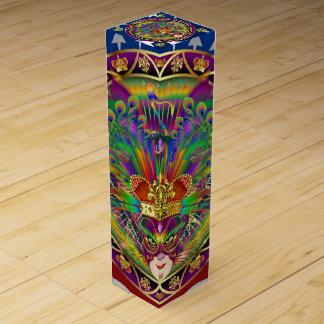 Mardi Gras King Rex 1View About Design Wine Gift Box