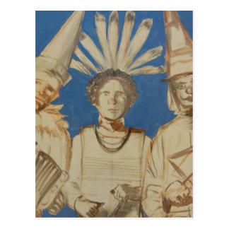 Mardi Gras Mambo Postcard