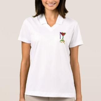 Mardi Gras Martini Polo Shirt