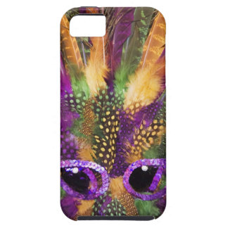 Mardi Gras mask, close-up, full frame iPhone 5 Covers