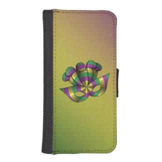 Mardi Gras Mask Smartphone Wallet Case Phone Wallet Case
