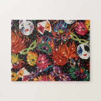 Mardi Gras Masks 2 Jigsaw Puzzle