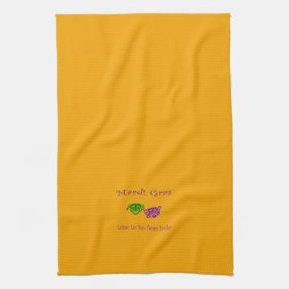 Mardi Gras Masks Rouler Kitchen Towel