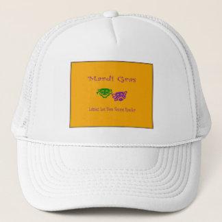 Mardi Gras Masks Rouler Trucker Hat