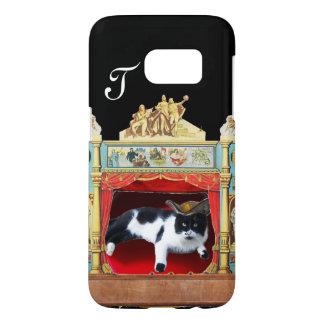 MARDI GRAS MASQUERADE THEATRE CAT Monogram Samsung Galaxy S7 Case
