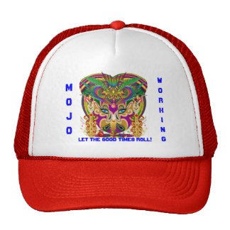 Mardi Gras Mojo Hat  Please View Notes