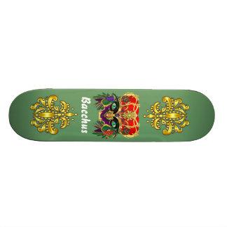 Mardi Gras Mythology Bacchus View Hints Please Custom Skate Board
