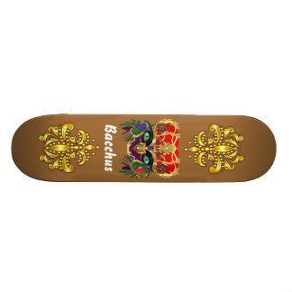 Mardi Gras Mythology Bacchus View Hints Please Skate Board Deck