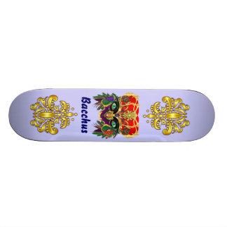 Mardi Gras Mythology Bacchus View Hints Please Skate Board Decks