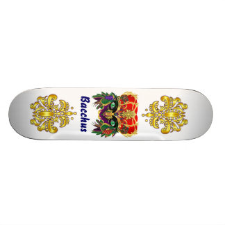 Mardi Gras Mythology Bacchus View Hints Please Skate Boards