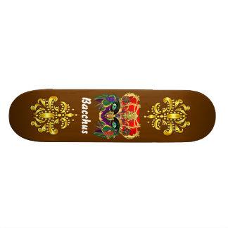 Mardi Gras Mythology Bacchus View Hints Please Skate Deck