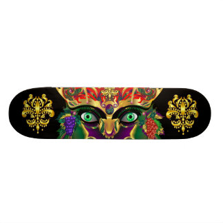 Mardi Gras Mythology Bacchus View Hints Please Skate Decks