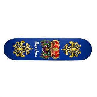 Mardi Gras Mythology Bacchus View Hints Please Skate Boards