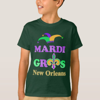 Mardi Gras New ORleans 2018 Celebration Costume T-Shirt