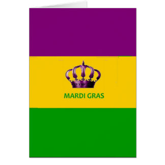 Mardi Gras New Orleans Card Louisiana 72marketing