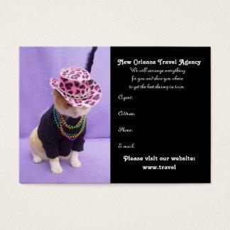 Mardi Gras, New Orleans, Rio de Janeiro Business Card