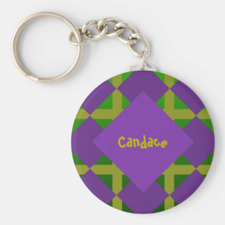 Mardi Gras New Orleans Themed Keychain