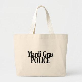 Mardi Gras Police 2 Jumbo Tote Bag