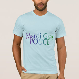 Mardi Gras Police T-Shirt