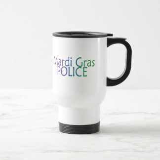 Mardi Gras Police Travel Mug