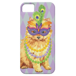 Mardi Gras Pomeranian iPhone 5 Cover