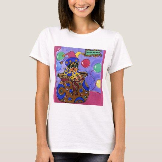 Mardi Gras Poo T-Shirt