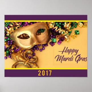 mardi gras poster 2017 new orleans