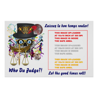 "Mardi Gras Poster 60""x 38""  Customize View Notes"