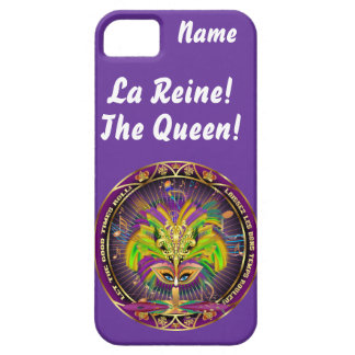 Mardi Gras Queen Style 2 View Notes Plse Case For The iPhone 5