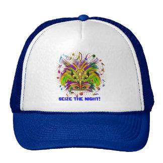 Mardi Gras Queen Style 3 View Notes Plse Trucker Hat