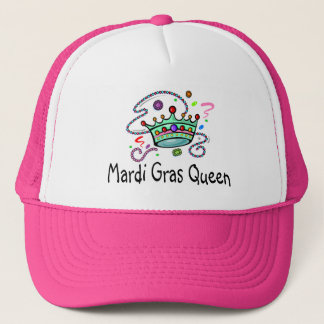 Mardi Gras Queen Trucker Hat