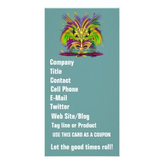 Mardi Gras Queen View Notes Please Custom Photo Card