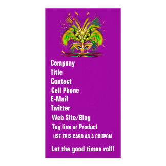 Mardi Gras Queen View Notes Please Photo Greeting Card