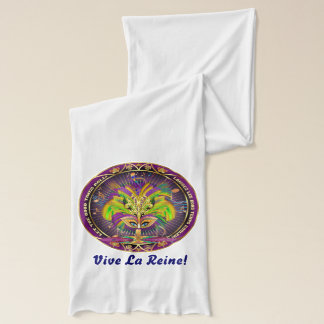 Mardi Gras Queen Voodoo & Priestess Light Scarf