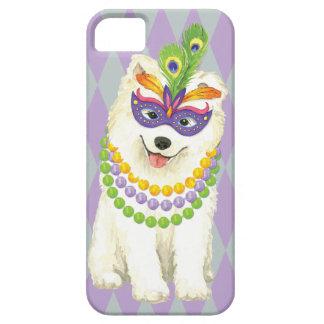 Mardi Gras Samoyed iPhone 5 Cover