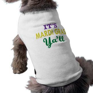 Mardi Gras ~ Slang Shirt