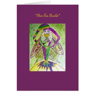 Mardi Gras Spirit Greeting Card