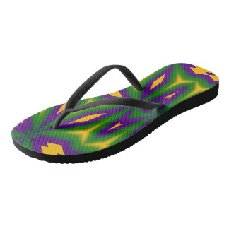 Mardi Gras Star 3598 Flip Flops