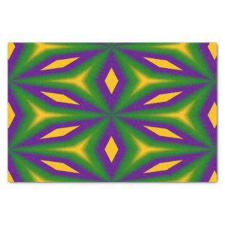 Mardi Gras Star 3598 Tissue Paper