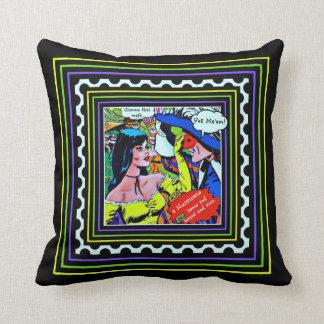 Mardi Gras Throw Pillow