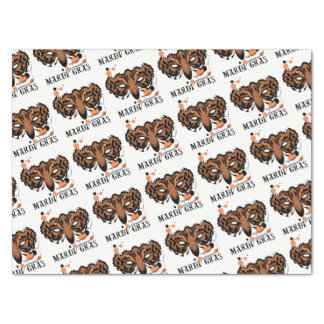 "MARDI GRAS TIGER 15"" x 20""- 10lb Tissue Paper"