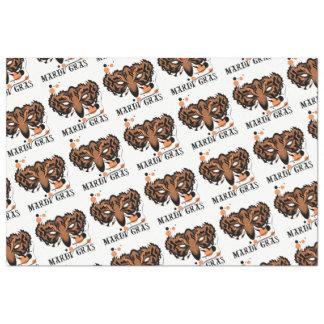 "MARDI GRAS TIGER 20"" x 30""- 18lb Tissue Paper"