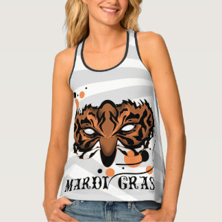 MARDI GRAS TIGER 2All Over Print Racerback TankTop Tank Top