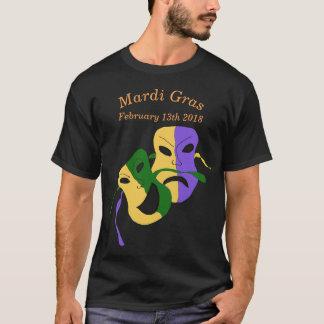 Mardi Gras Tragedy Comedy Mask T-Shirt