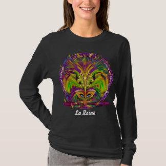 Mardi Gras Women Mix Match 3 Designs Queens T-Shirt