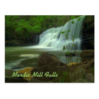 Mardis Mill Falls Postcard