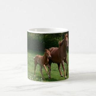 Mare & Foal Running Coffee Mug
