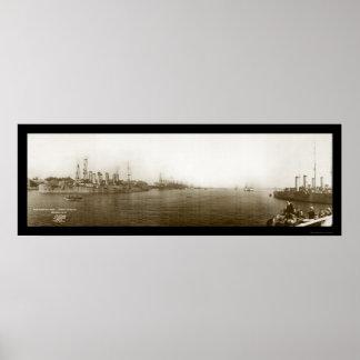 Mare Island Vallejo CA Photo 1911 Poster
